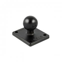"RAM 2"" X 1.7"" Base With 1"" Ball"