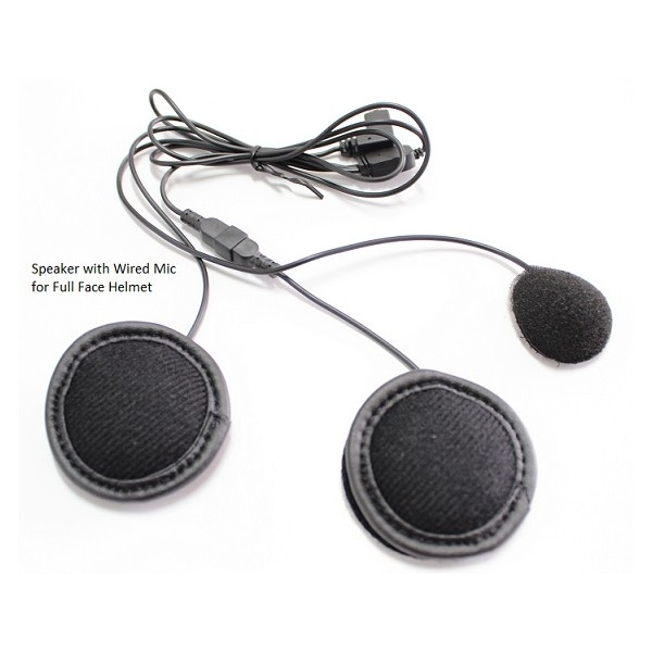 Speaker with Wired Mic