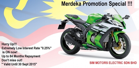Kawasaki ZX-10R ABS -30th Ann.- Merdeka '15 ~ Promotion